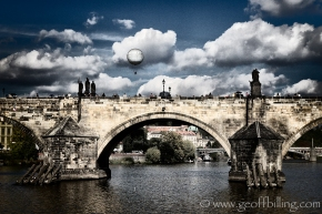 Charles Bridge from a boat!