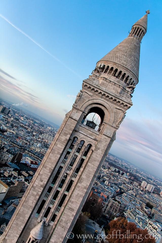 Sacré-Cœur Basilica tower